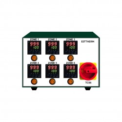 Hot Runner Controller 6 Zones GREEN